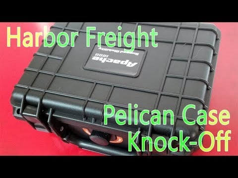 "Review - Harbor Freights ""Pelican"" Apache Case"