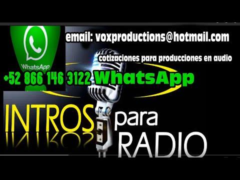 INTROS PARA PROGRAMA DE RADIO