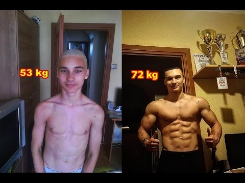 4 YEARS CALISHTENICS TRANSFORMATION - ONLY BODYWEIGHT WORKOUT