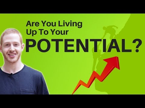 Thought Experiment - What Percentage Are You Living Up To Your Potential?