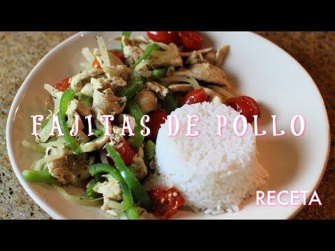 Fajitas de Pollo - RECETA