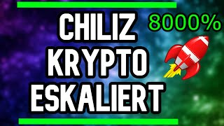 CHILIZ KRYPTO ESKALIERT KOMPLETT - CHILIZ KRYPTOWÄHRUNG 2021 - CHILIZ DEUTSCH - ALTCOINS DEUTSCH CHZ
