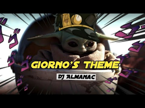 Baby Yoda Meme 「Giorno`s theme song」 - YouTube