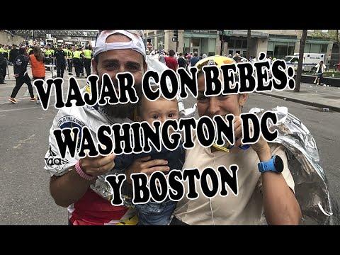 Viajar con bebés: Washington DC y Boston