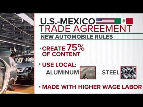 U.S. & Mexico announce revised trade deal, Canada begins negotiations