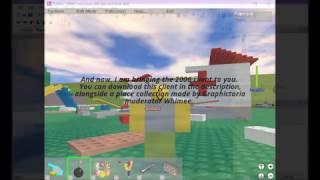 Roblox 2006 Client (Leak)