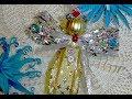 Поделки - Ангел рождественский новогодний-декор, игрушка, подарок