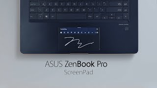 ASUS ScreenPad™ Tutorial - Efficient Inputs | ASUS