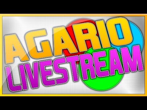 FREE AGARIO BOTS GIVEAWAY EVERY 100 SUBS! AGARIO LIVESTREAM WITH BOTSSSS! Lets try to get to 55k!