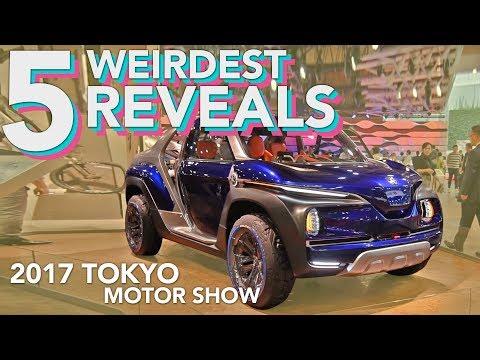 5 Weirdest Cars from the 2017 Tokyo Motor Show