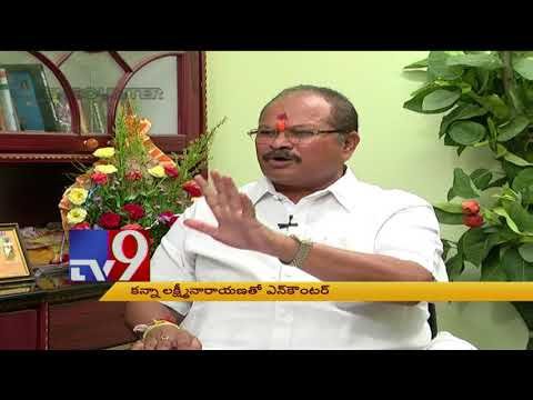 AP BJP President Kanna Lakshmi Narayana in Encounter With Murali Krishna - TV9