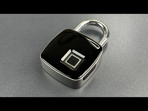 [805] The Fingerprint Padlock With a Literal Open Switch (Pavlit)