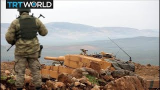 Turkey's Border Mission: Turkish troops clear strategic area from YPG