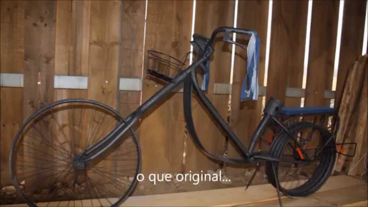 Decoracion de jardin bicicletas o lo que se te ocurra for Adornos de jardin