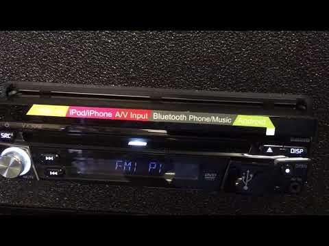 "Jensen Vx3012 7"" Flipout Touchscreen Bluetooth Usb Aux"