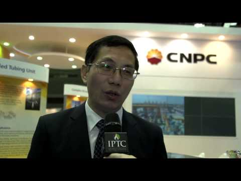 Mao Qiping, CHINA NATIONAL PETROLEUM CORPORATION  spoke to Eithne Treanor at IPTC in Doha 2014
