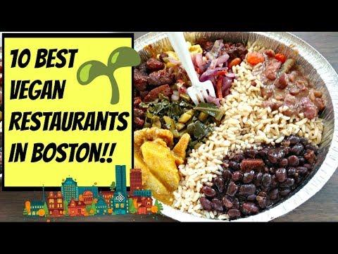 """""""TOP 10"""" BEST VEGAN RESTAURANTS IN BOSTON!!"""