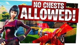1 Chest Challenge? Pffft, NO CHEST CHALLENGE! - Fortnite Battle Royale Gameplay