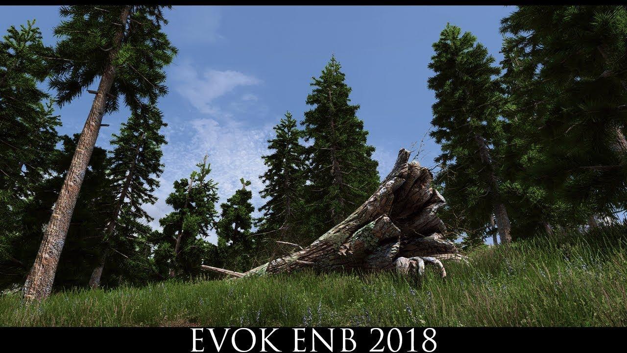 Skyrim SE Mods Evok ENB 2018 YouTube
