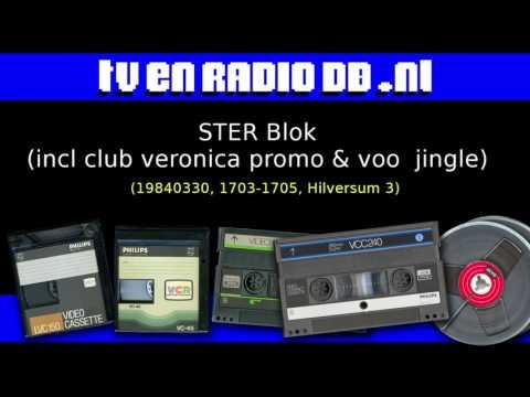 Radio: STER Blok (19840330, 1703-1705, Hilversum 3) (incl Club Veronica promo & VOO jingle)