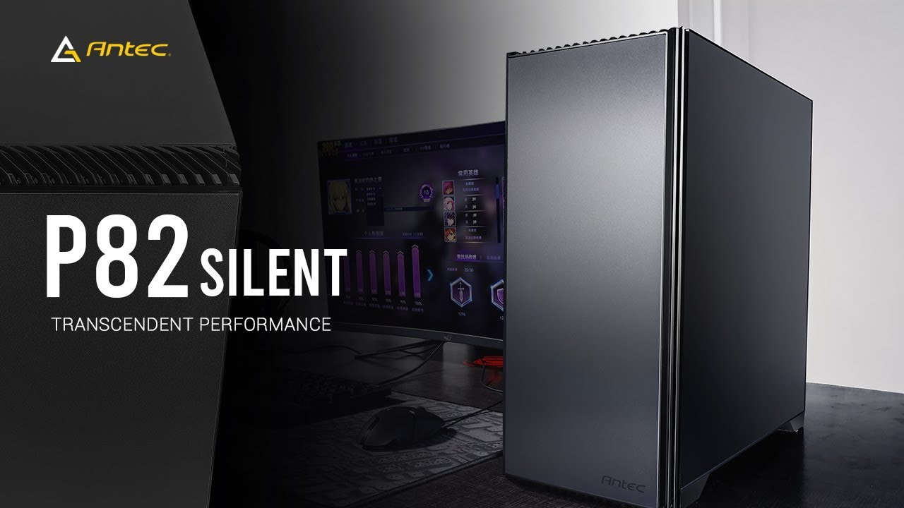 Download Antec Performance Series P82 Silent Mid-Tower Case - Transcendent Performance