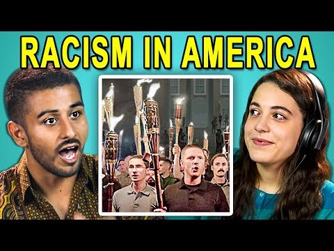 COLLEGE KIDS REACT TO RACISM IN AMERICA