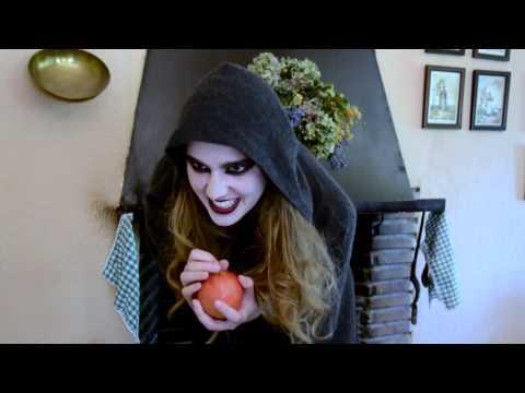 """Escena manzana de """"Blancanieves y los siete enanitos"""""""
