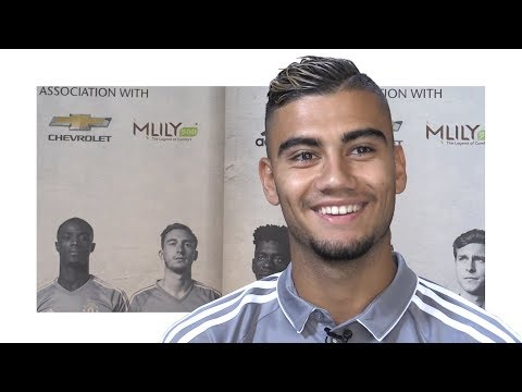 Interview With Andreas Pereira - Rules Out Fresh Loan Move - Manchester United Tour 2017