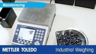 Neue Zähl- und Kontrollwaagenfamilie -- ICS5 - METTLER TOLEDO Industrial - de