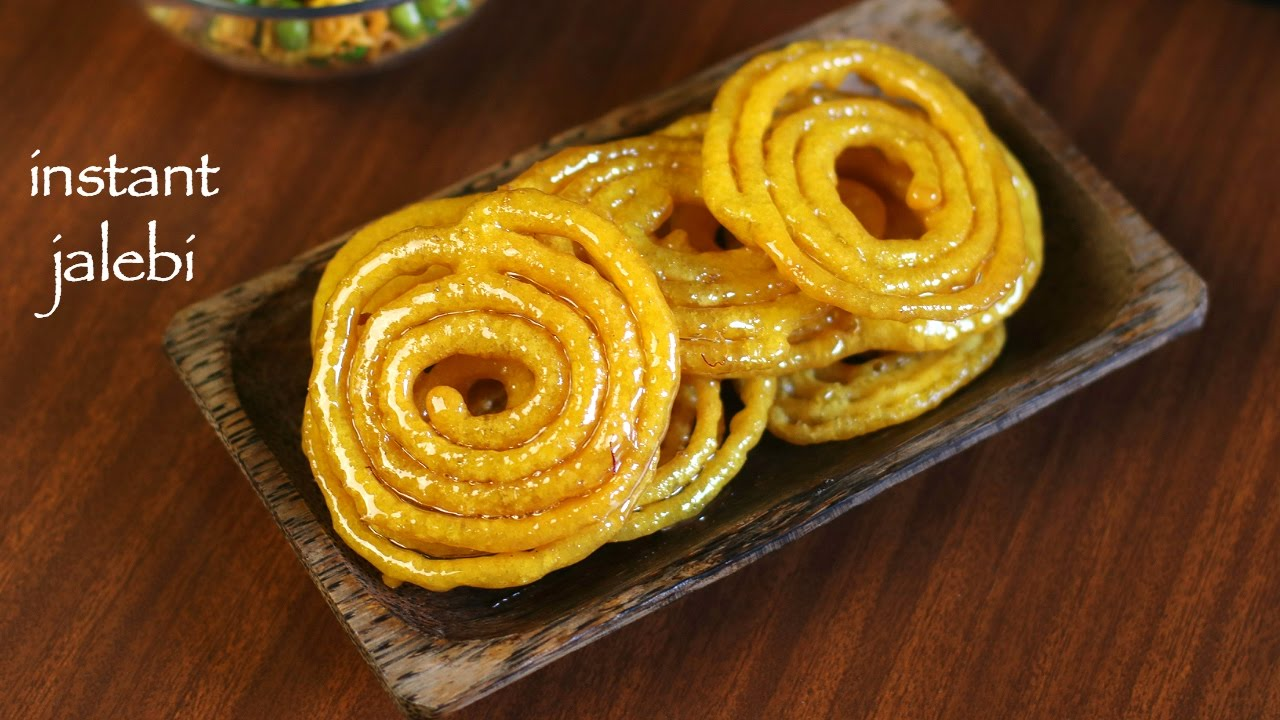 Jalebi Recipe Instant Jalebi Recipe How To Make Homemade Crispy Jalebi Recipe Youtube