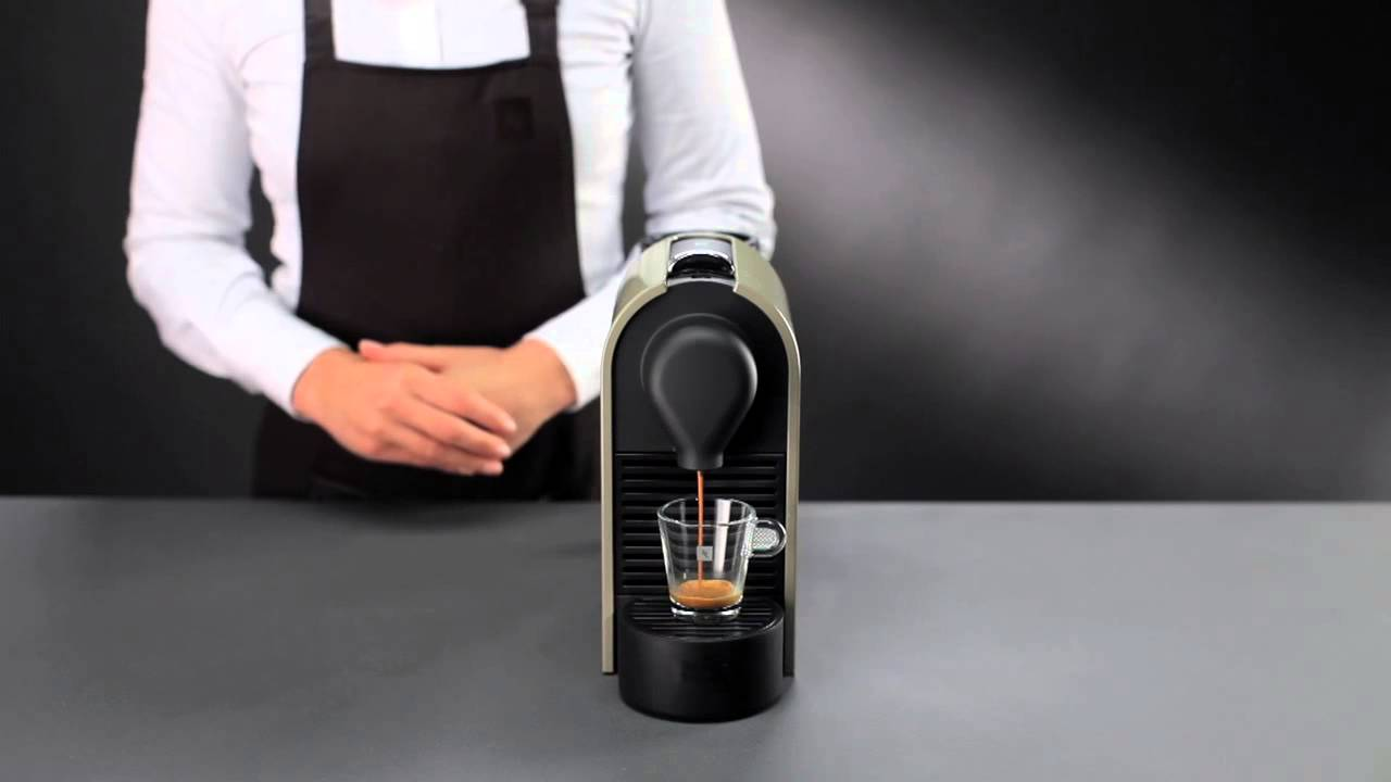 nespresso u directions for use youtube