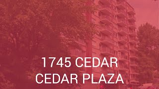 Cedar Plaza - Apartments for Rent Downtown Montreal - Cromwell Management (EN)