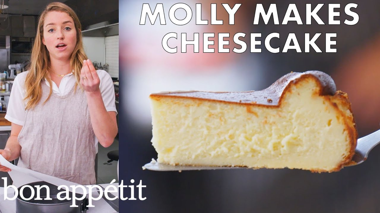 Molly Makes Cheesecake | From the Test Kitchen | Bon Appétit
