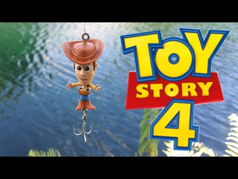 Toy Story 4 Fishing Lure DIY