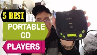5 Best Portable CD Players 2018 | Best Portable CD Players Reviews | Top 5 Portable CD Players
