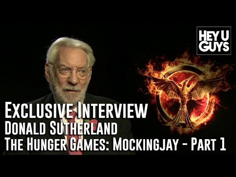 Donald Sutherland Interview - The Hunger Games: Mockingjay - Part 1
