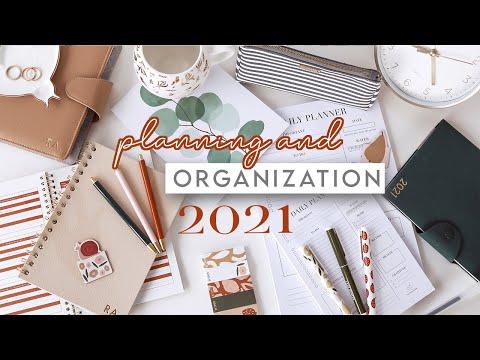 2021 Planning & Organization Essentials