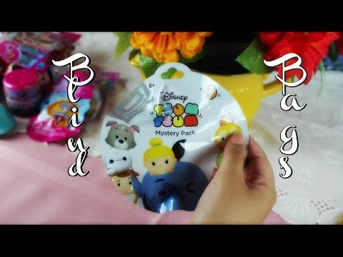 ASMR| Opening Blind Bags  ~Tingle Overload~ Close Whispers & Crinkly Goodness