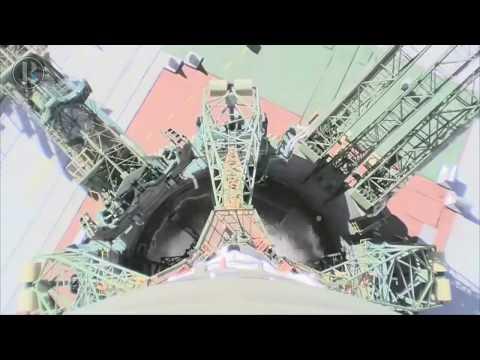 Imágenes del accidente de la Soyuz
