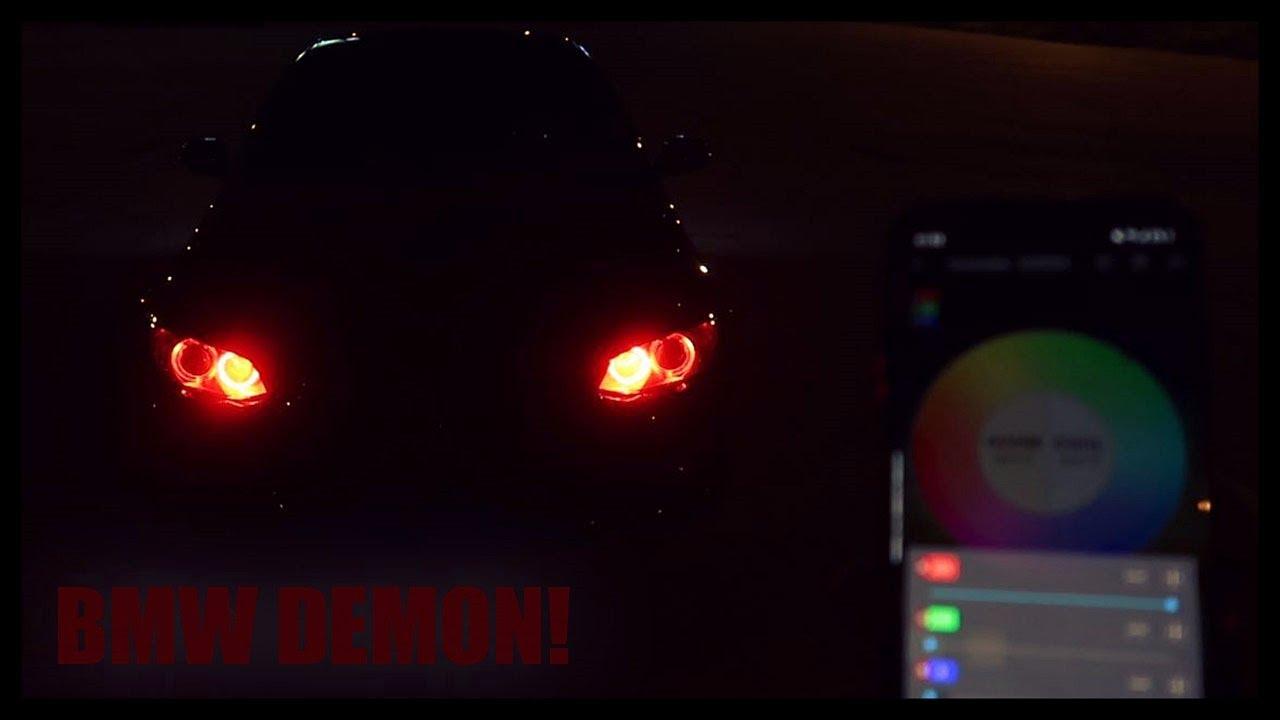 DEMONSKE OČI NA BMW-U! UGRADNJA RGB MODULA