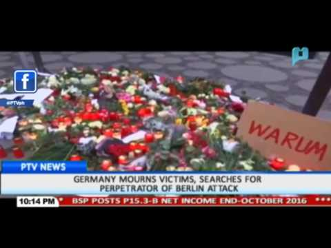 GLOBAL NEWS: Germany mourns victims, searches for perpetrator of Berlin attack