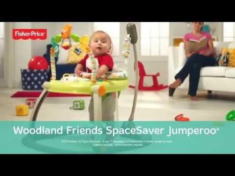 Woodland Friends SpaceSaver Jumperoo®