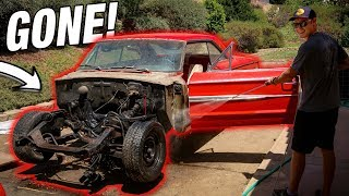 I COMPLETELY STRIPPED MY GALAXIE!