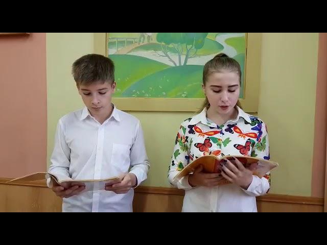 Изображение предпросмотра прочтения – «Никита Тихомиров и Марчелла Чиобану» читает произведение «Памяти Юлии Вревской» И.С.Тургенева