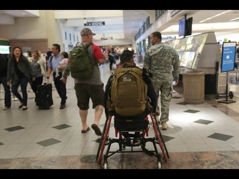 Travel Tips: Wounded Warriors  Screening Assistance