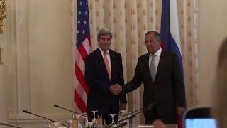 كيري في موسكو لعرض تعاون عسكري اوثق في سوريا