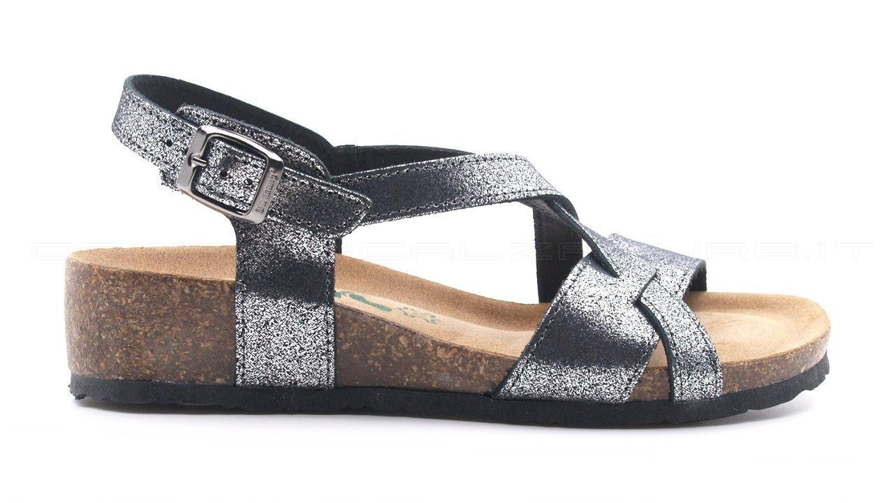 best cheap 9db8a 7a516 BioNatura sandali comfort zeppa media SKU #12A826-GLI-NERO