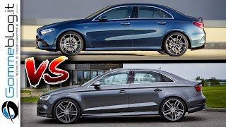 2020 Mercedes A35 AMG Sedan VS 2019 Audi S3 Sedan ! 300 HP BATTLE