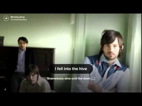 The Avett Brothers - Morning Song (Lyrics) (2014) (HD)