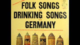 FOLK SONGS AND DRINKING SONGS FROM GERMANY - side 1 of 2